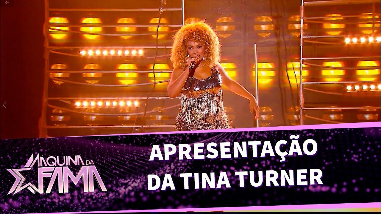 Apresentação da Tina Turner cover | Máquina da Fama (17/10/20)