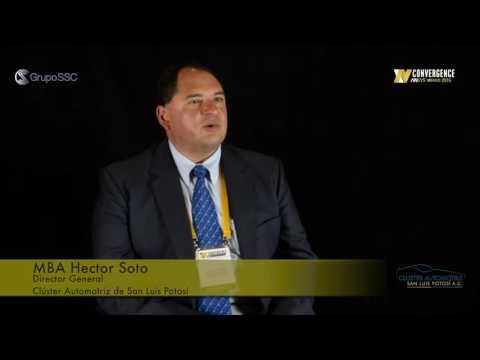 MBA Hector Soto, Clúster Automotriz de SLP