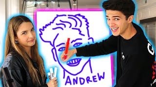 WHO IS THAT? Brent and Lexi Rivera Guess the Drawing (Pictionary)