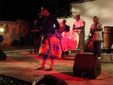 ANGELA NYIRENDA PERFORMING AT DAZZLE GRIL IN