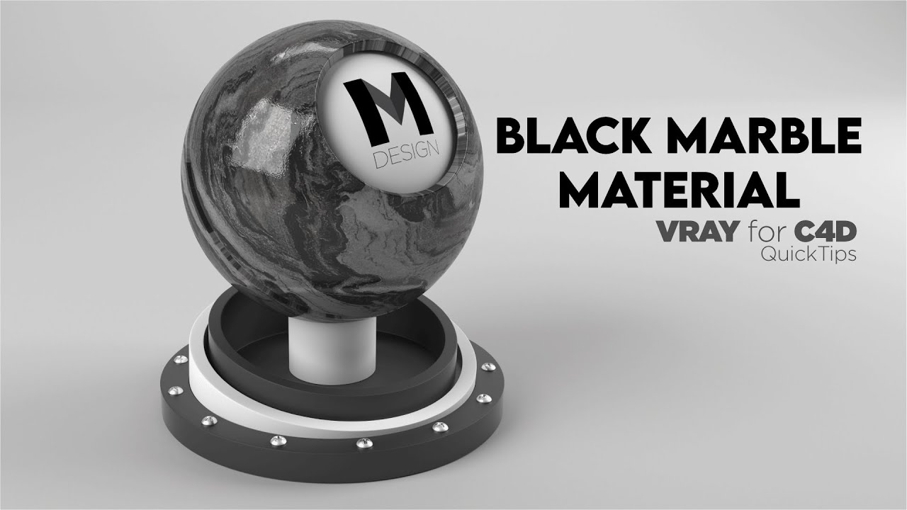 Black Marble Material