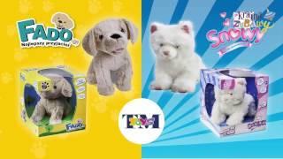 Fado i Snowy interaktywne zwierzątka - Reklama TV