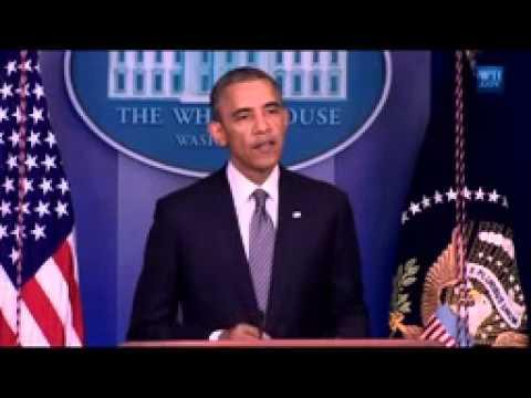 Obama Toeespraak Vlucht MH17 Neergeschoten in luchtruim Ukraine / Obama Flight MH17 Shot Down