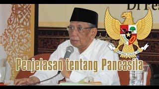 KH. Hasyim Muzadi: Penjelasan Tentang Pancasila
