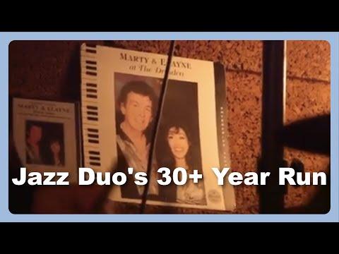 Jazz Duo, Marty & Elayne, at the Dresden Room