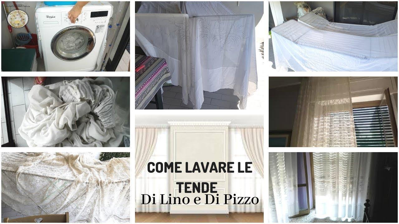 Come Lavare Il Lino come lavare le tende di lino e di pizzo || post ristrutturazione || una  fetta di paradiso