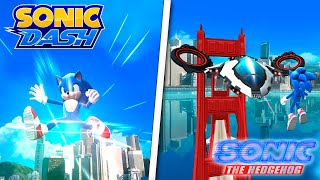 Teen Sonic in Sonic Dash! (Sonic Movie)