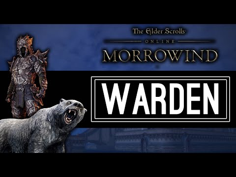 The Warden New Class Showcase - Morrowind ESO
