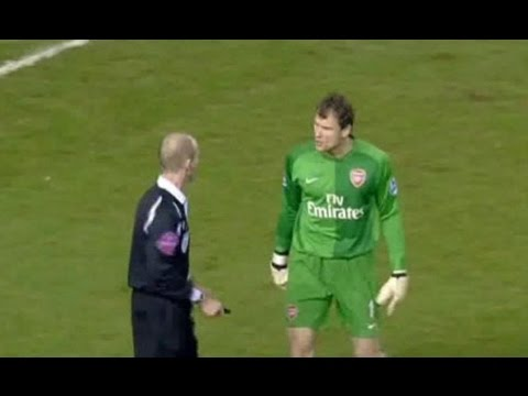 Middlesbrough v Arsenal 2006-07 YAKUBU HENRY GOAL LEHMAN CRACKERS