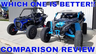 2018 Polaris Turbo S And 2018 Can-Am X3 Xrc Comparison Review!!