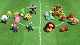 Super Mario Party - All Team Minigames (Team Mario vs. Team Donkey Kong)