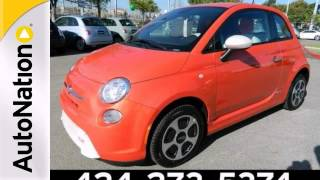 2013 FIAT 500e BATTERY ELECTRIC Manhattan Beach, CA #DT740397
