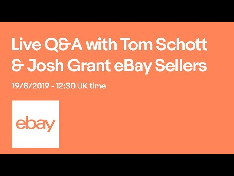 Live Q&A with Josh and Tom, Schott Packaging | eBay for Business UK