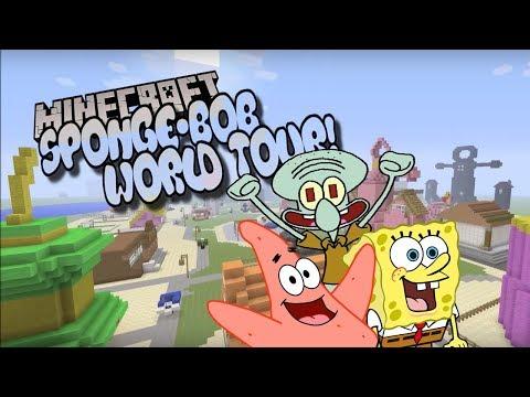 Minecraft bikini bottom world tour!