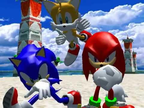 Прохождение Sonic Heroes (Команда Соника) часть 1 «СТАРОЕ»
