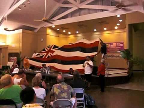 Another clip of Historic Hawaiian Flag