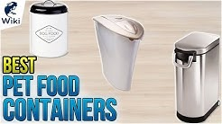 10 Best Pet Food Containers 2018