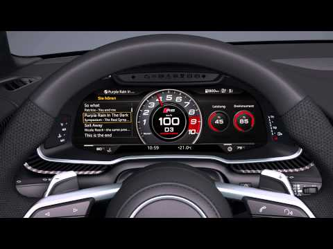 Audi R8 Interior Animation | AutoMotoTV