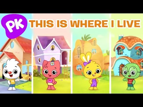 This Is Where I Live | I Love to Learn | Music for Kids, Preschool Songs, Kids Songs