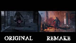 Nacht Der Untoten Original and Remake Trailer Comparison | Black Ops 3 Zombies Chronicles