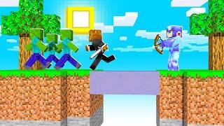 Breaking Monster Island In Minecraft   JeromeASF