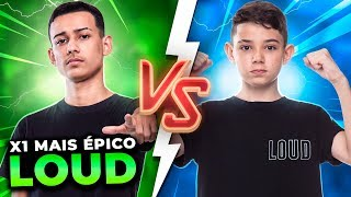 BAK VS. THURZIN!! O X1 MAIS ESPERADO DA LOUD NO FREE FIRE!!