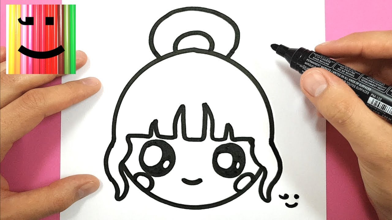 How To Draw A Cute Girl Easily