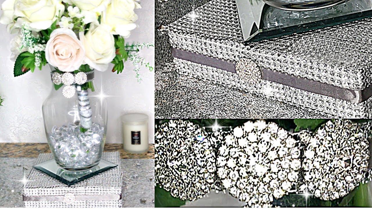 diy room decor diy room decorating ideas diamond bling riser vase