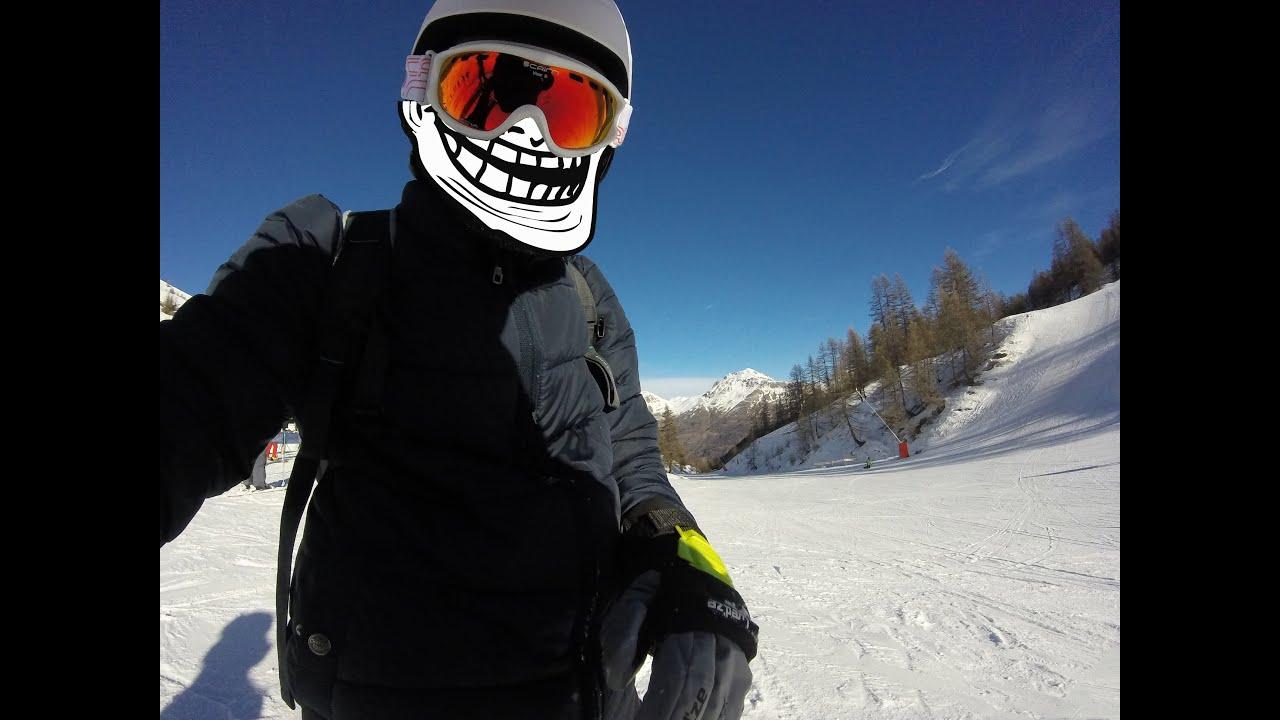 Go pro hero] mes vacances à la neige! serre chevalier 2015   youtube