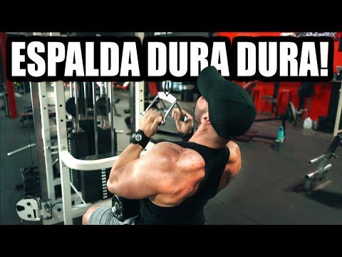 rutina de espalda en gym