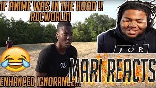 TOP ANIME SKIT ON YOUTUBE!! | RDCWORLD1 IF ANIME TOOK PLACE IN THE HOOD | *REACTION*