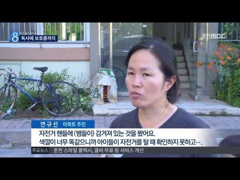 춘천MBC뉴스 R)아파트 뱀 '득시글'..독사에 보호종까지