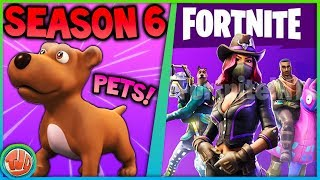 *LEAKED* DEZE PETS KOMEN IN SEASON 6!!! - Fortnite: Battle Royale
