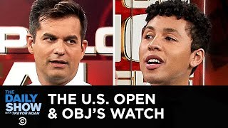 I Apologize for Talking While You Were Talking - The US Open & Odell Beckham Jr.  | The Daily Show