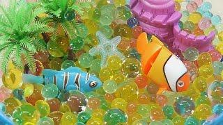 Аквариум с рыбками. Как сделать? Развивающие мультики и обучающие видео обзоры детских игрушек