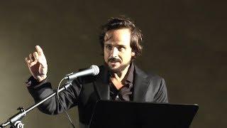 """Maximilian nisi legge hermann hesse""""narciso e boccadoro"""" (dal cap. xx)al pianoforte stefano de meo - fiato ai libri 2018"""