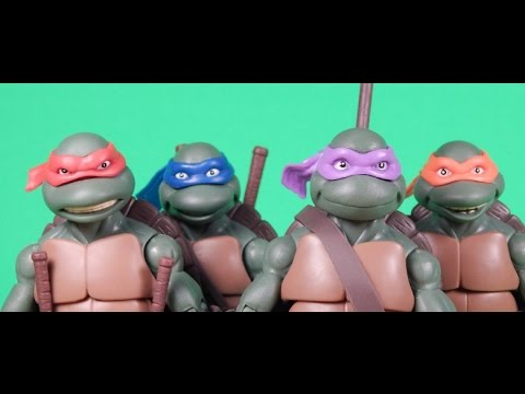 TMNT Classics 1990 Movie Figures: Switching Masks