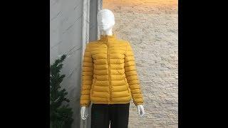 Latest Design Ladies Ultralight Down Jacket 800 fill power