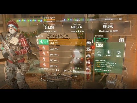 Showstopper Speedrun PVE farming Build!!! - The Division 1.8