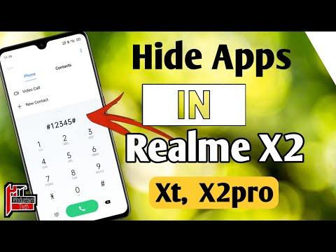 How to Hide & Unhide Apps in Realme X2   Others Realme Device  Realme  me Apps ko Hide kaise kare 🔥⚡