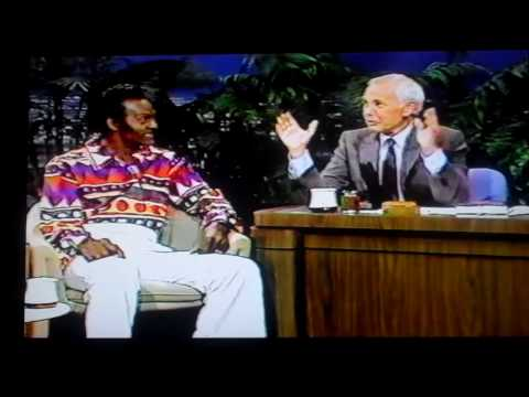 Chuck Berry Interview on The Tonight Show w/ Johnny Carson..1987