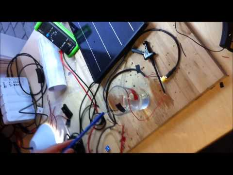 Solar Cell + Water = Electrolysis (part 1/3)