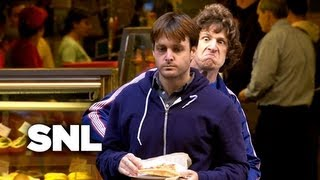 SNL Digital Short: People Getting Punched Right Before Eating - Saturday Night Live