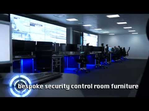 Security Control Room Furniture Solutions | Thinking Space
