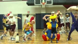 Harlem Shake Braves Basketball Edition