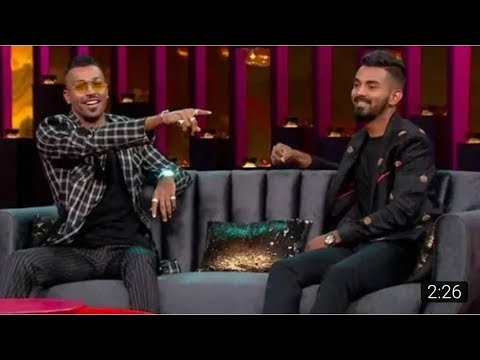Hardik Panday's Controversial &Shocking Statements In Coffe With Karan