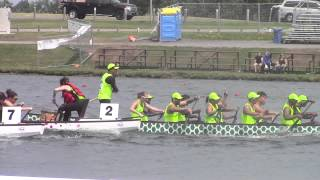 Pan American Dragon Boat Club Crew Championships 2015 Race 22 mixed 2000m