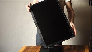 Büro-Monitor LG 24BK55WY-B überzeugt auf dem Schreibtisch (Hands on)
