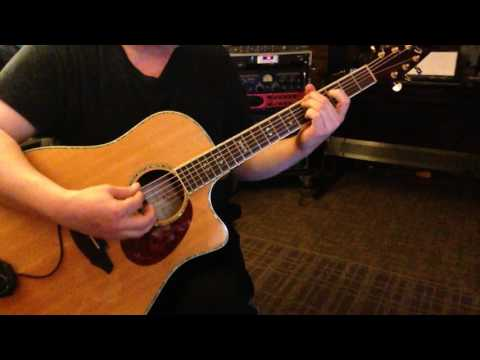 Alternate Tuning DADGA#D - Key A# Major