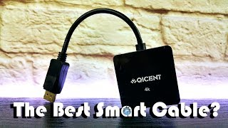 The Best Smart Connectivity Cable ? | QICENT's Display Port 3-in-1 HDMI/DVI/VGA Multi Adapter